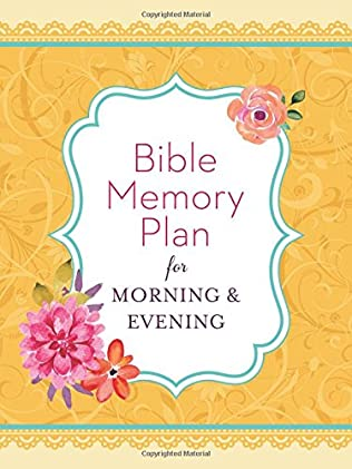 book cover of Bible Memory Plan for Morning & Evening