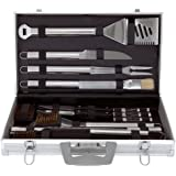 Mr Bar B Q 02191 30-Piece Tool Set with Carrying Case