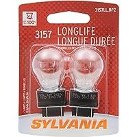 SYLVANIA 3157 Bombilla miniatura de larga duración, (contiene 2 bombillas)