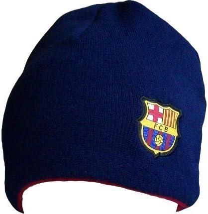 Fc Barcelone Gorro – Colección Oficial – Fan Barcelona – Barca – Liga de Fútbol España – Reversible Talla Única para Adultos: Amazon.es: Deportes y aire libre