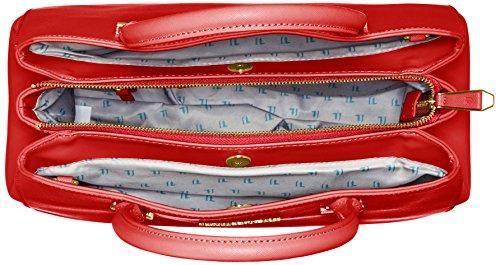 Trussardi 75b491xx53, Borsa a Mano Donna, 37x27x19 cm (W x H x L) Rosso