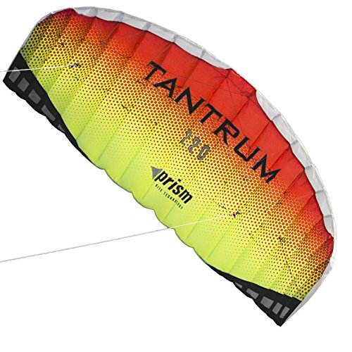 Prism Tantrum 220 Dual-line Parafoil Kite with Control (Best Big Kites)