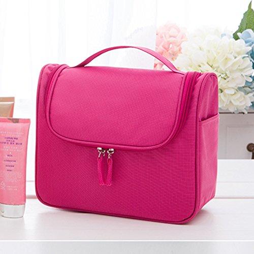 LULANWaschen Paket Männer, die Mission Mädchen wasserfeste Reisetasche Make-up-Paket von, 24 * 10 * 19,5 cm, rot