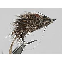 Flies Direct Mouse Rat Assortment Trout Fishing Flies,Pack of Four