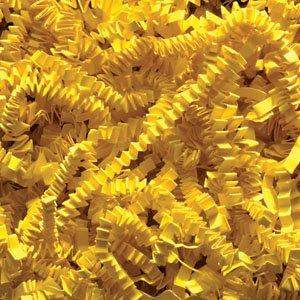 Yellow Crinkle Cut Paper Shred 10 lbs/Case by JC Danczak