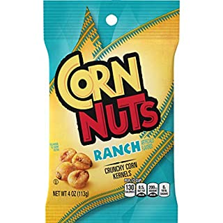 Corn Nuts Ranch Crunchy Corn Kernels (4 oz Bags, Pack of 12)