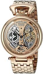 Stuhrling Original Men's 797.03 Legacy Analog Display Automatic Self Wind Rose Gold Watch