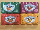 San Pellegrino ORANGE Variety Pack (Blood Orange, Pomegranate Orange, Original Orange. Clementine)