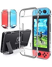Coque pour Nintendo Switch,Gogoings Gel souple en cristal transparent Housse de protection Protection anti-rayures Premium Anti-rayures Pour Nintendo Switch 2017