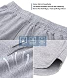 HBY 2 Pack Womens Casual Running Workout Yoga Shorts Sports Fitness Short Pants
