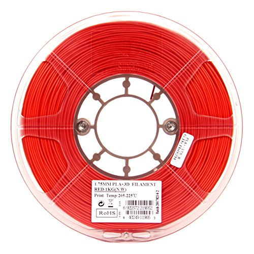 eSUN 1 75mm Red PLA PRO (PLA+) 3D Printer Filament 1KG Spool