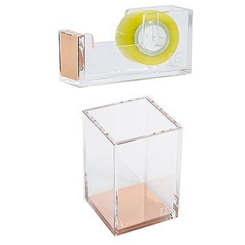 Draymond historia acrílico suministros de oficina Bundle 1) dispensador de cinta adhesiva (1)