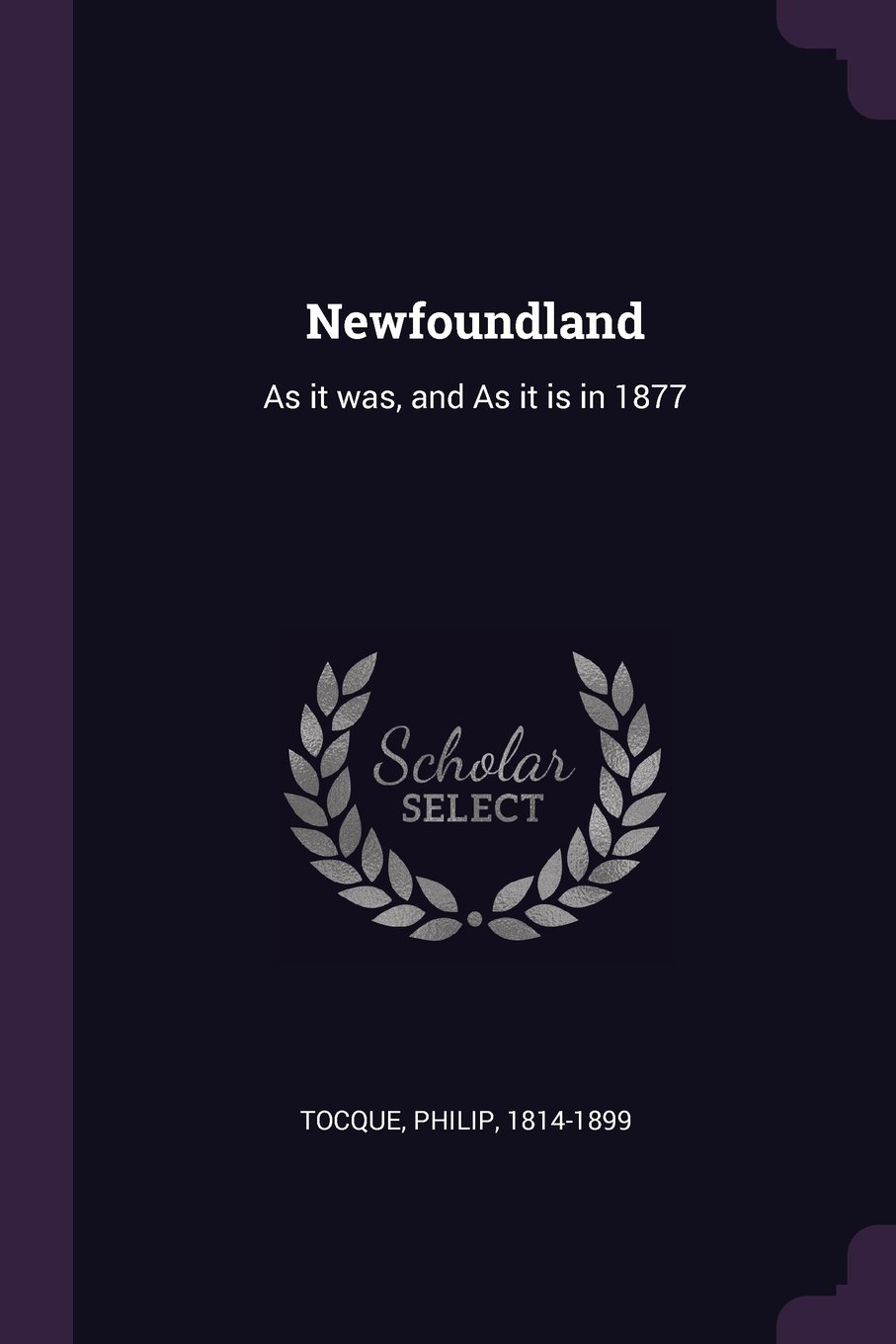 Newfoundland: As It Was, and as It Is in 1877 pdf epub