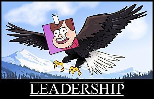 Gravity Falls - Leadership Poster