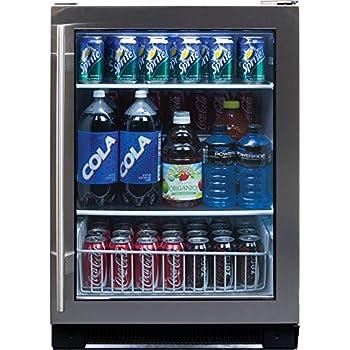 Amazon Com Haier Bc100gs 150 Can Beverage Center Appliances