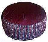 Meditation Cushion Zafu Pillow - Buckwheat and Kapok Fill - Global Pattern review