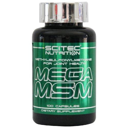 Scitec Ref.105876 Complément Alimentaire de Glucosamine/Chondroïtine 100 Capsules