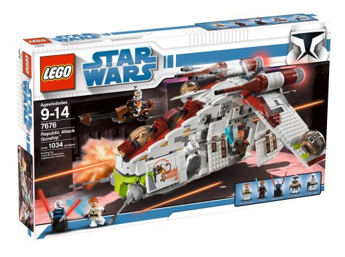 LEGO Star Wars Republic Gunship (7676) (Lego Star Wars Plo Koons Jedi Starfighter)