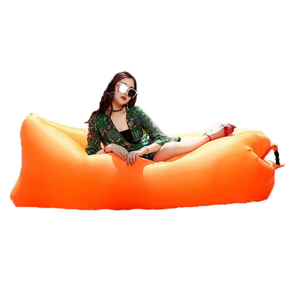 DDSGG Tumbona Hinchable,Portátil Impermeable Sofa Cama ...