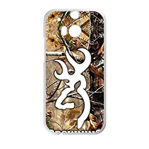 Browning White htc m8 case by supermalls