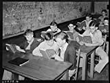 Students in agricultural class. High school, San Augustine, Texas
