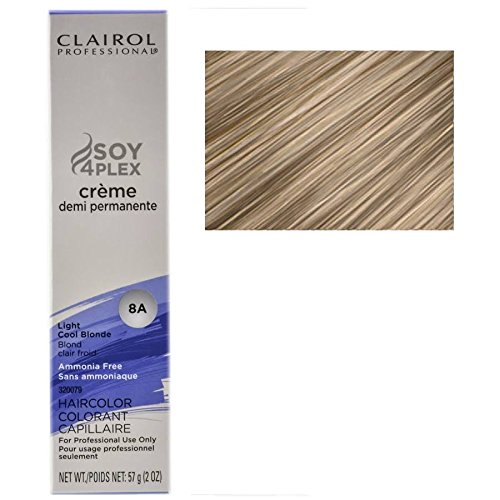 (Clairol Professional Creme Demi Permanente 8A-Light Cool Blonde (PACK OF 1))