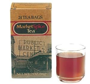 Market Spice Tea Bags - Original Orange Cinnamon - 24 count box, Garden, Lawn, Maintenance