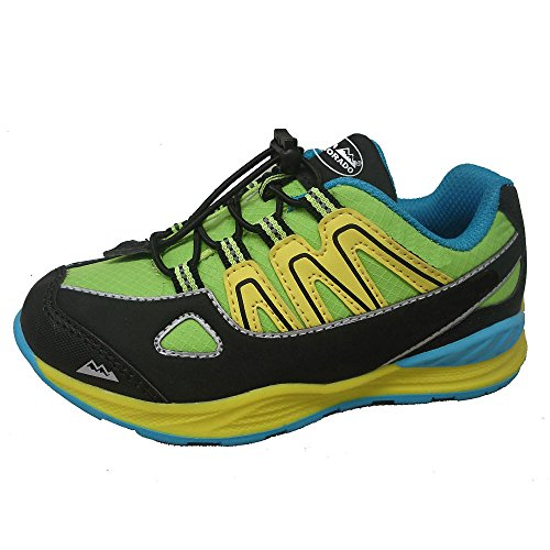 High Colorado hikingshoe Randonnée Kid – Noir/Lime/Blue