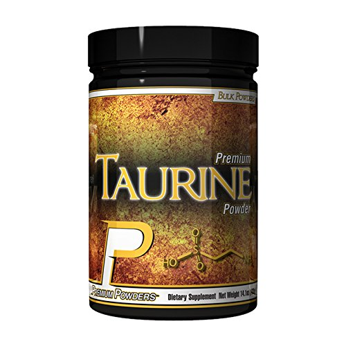 Taurine by Premium Powders 80 Scoop Container