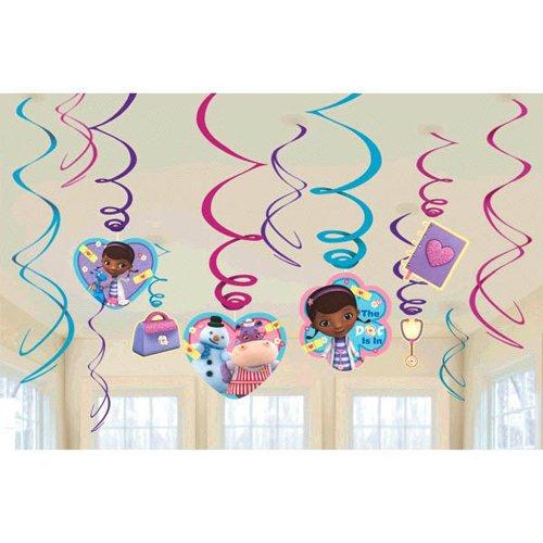 Foil Swirl Value Pack Decorations | Disney Doc McStuffins Collection | Party Accessory]()