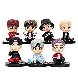 Kpop BTS Bangtan Boys Height 2.5'' Tiny TAN Cartoon