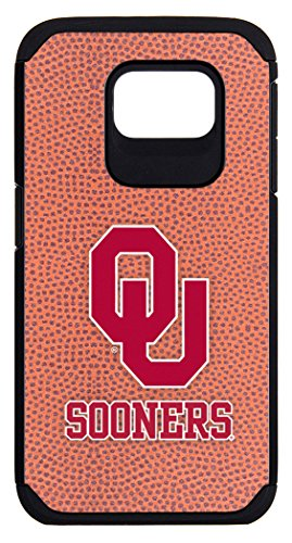 Oklahoma Sooners Classic Football Pebble Grain Feel Samsung Galaxy S6 Case,One Size,Brown - Sooners Oklahoma Pebble