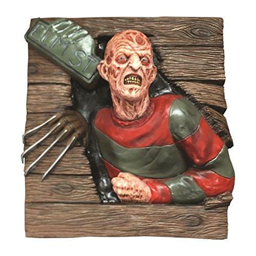 Freddie Krueger Costumes (Freddy Krueger 3D Wallbreaker Horror Decoration)