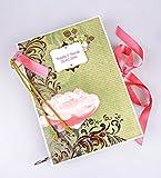 Kristabella Creations Wedding Album, Personalized Wedding Scrapbook Album, Custom Wedding Photo Album, Wedding Memory Book, size A4, vintage