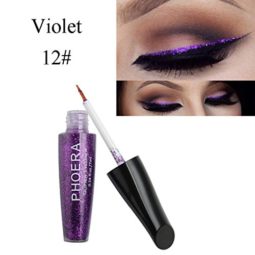 HP95 Available Choose-10 Color Waterproof Glitter Liquid Eye