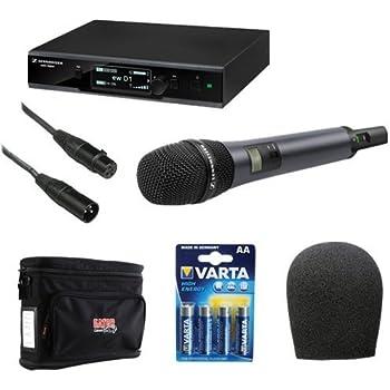 sennheiser ew d1 835s evolution wireless d1 digital vocal system with handheld. Black Bedroom Furniture Sets. Home Design Ideas