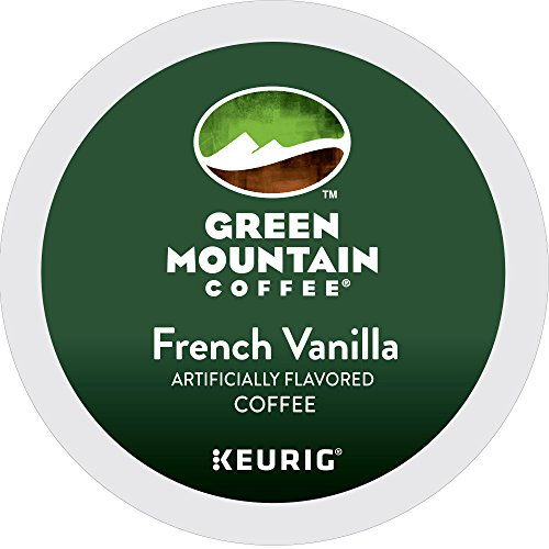 Green Mountain Coffee French Vanilla Keurig Single-Serve K-Cup Pods, Light Roast Coffee, 24 Count