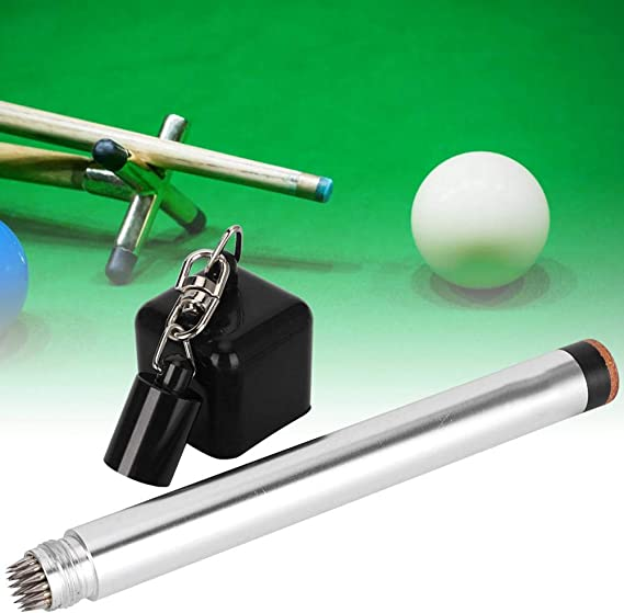 12pcs 6 Color Pocket Pool Billiard Cue Chalk Holder Snooker Accessories NO  JF#E