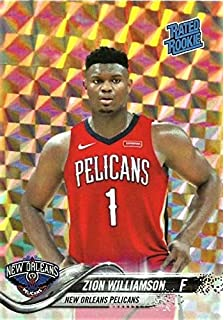 Basketbal 2019 Zion Williamson Art Cards Editions & Originals RC Card New Orleans Pelicans