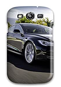 Faddish Phone Tesla Model S 18 For CaseGalaxy S3 / Perfect Case Cover