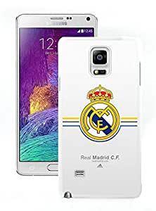 Beautiful Designed Case With Real Madrid White For Samsung Galaxy Note 4 N910A N910T N910P N910V N910R4 Phone Case