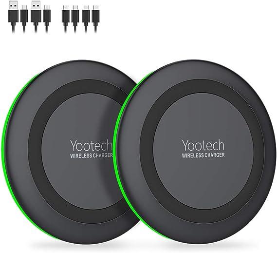 Amazon.com: Yootech [2 unidades] Cargador inalámbrico con ...