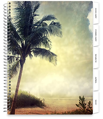 Tools4Wisdom Softcover Planner 2018-2019 Calendar - 8.5x11 Soft Cover - Dated July 2018 to June 2019 Academic Year - Plan for a Happy Life Filled with Passion by Setting Weekly and Monthly Goals