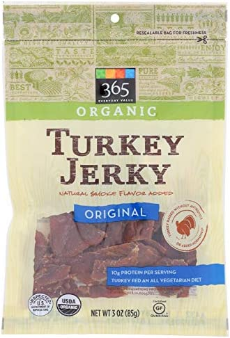 365 Everyday Value, Organic Turkey Jerky, Original, 3 oz