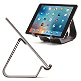 Thought Out Simplex iPad Stand Pro Air 2 12.9 10.5 9.7 mini Surface Galaxy Fire Tablet Holder Black - Made in USA