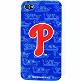 Philadelphia Phillies Mascot Licensed MLB for Apple iPhone 4 4S Faceplate Hard Back Protector Case Snap On Cover fits Sprint, Verizon, AT&T