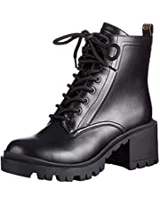 Guess MAGALY/STIVALETTO (BOOTIE)/LEA - Combat_Boots panie