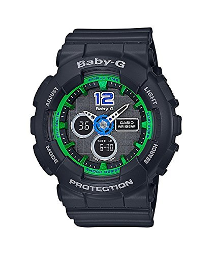 Casio CASIO Baby G Baby-G Digital Ladies Watch BA-120-1B black [parallel import goods]