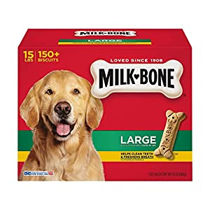 Milk-Bone Large Dog Biscuits, 14-Pound 17
