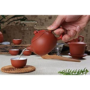 China Ceramic Tea-pot/Glass Gaiwan Kung Fu Tea Set,Ceramic Teapot ,Chinese Tea Cup,Teapot (Brown)